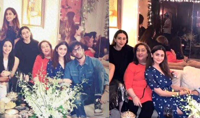 New Pictures: Ranbir Kapoor And Alia Bhatt Party With Karisma Kapoor on Armaan Jain's Birthday