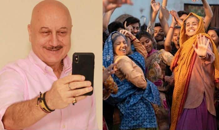 Anupam Kher Supports Taapsee Pannu And Bhumi Pednekar For Playing Octogenarians in Saand Ki Aankh
