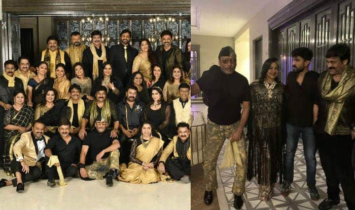 Class of 80s: Mohanlal, Chiranjeevi, Jackie Shroff, Jaya Prada And Other Top Stars Pose For a Viral Photo