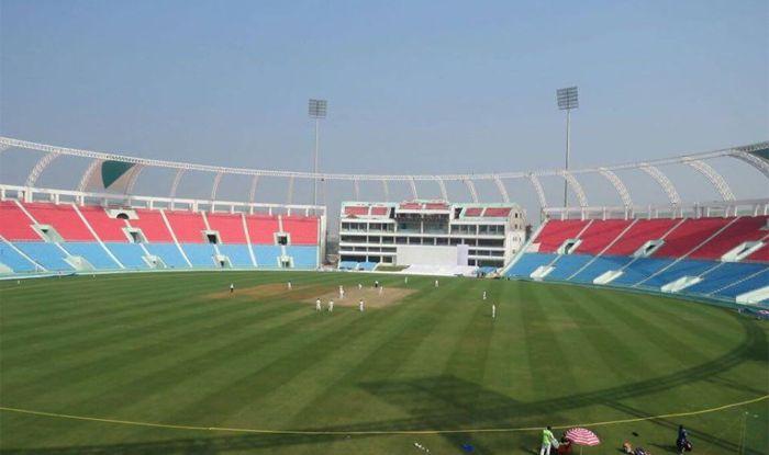 ekana cricket stadium photo