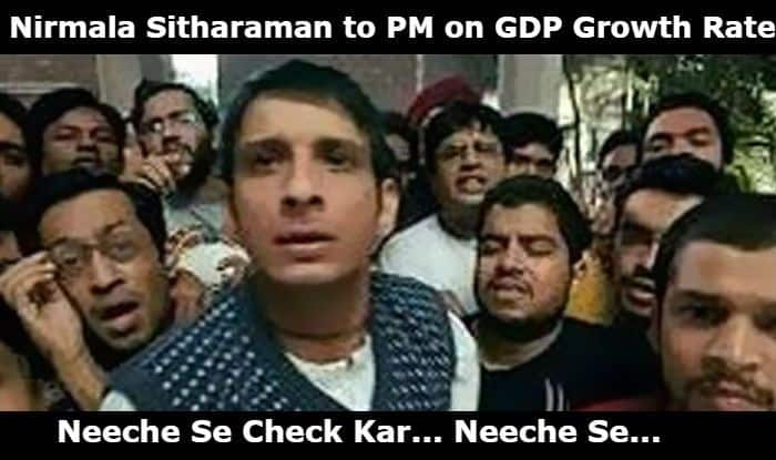 GDP Growth Rate Dip: Twitter Becomes Meme-Fest As People Express Dismay Over Economic Slowdown