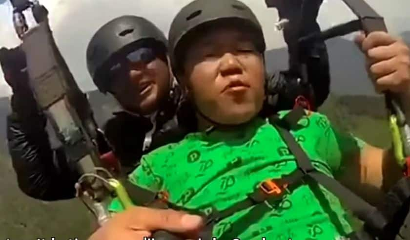 Hawa Kam Karo: Another Paragliding Video of Dharamshala Tourist Goes Viral- Watch Reactions