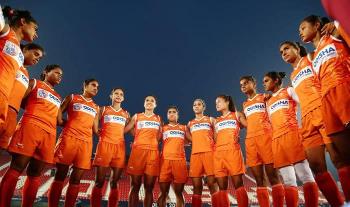 india women hockey team camp