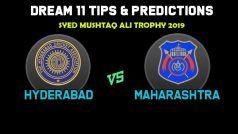 Dream11 Team Prediction Hyderabad vs Maharashtra: Captain And Vice Captain For Today