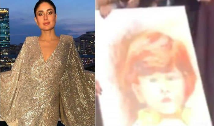 Kareena Kapoor Khan Gets an Adorable Portrait of Taimur Ali Khan From Fan- Watch