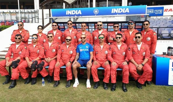 Shikhar Dhawan, Rishabh Pant And Co. Spend Time With Pilots of Indian Air Force
