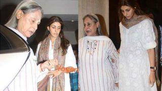 Jaya Bachchan Scolds Paparazzi For Clicking Pics Outside Manish Malhotra's Residence- Watch