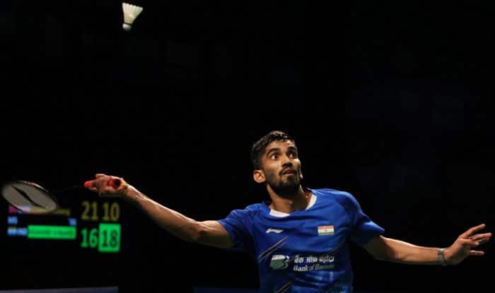 kidambi srikanth badminton men's singles