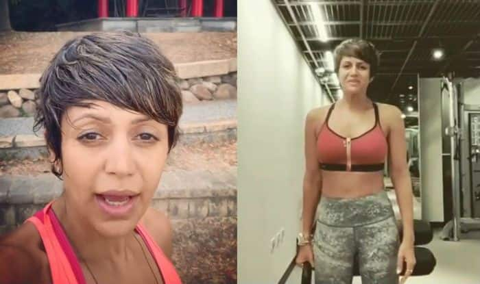 Mandira Bedi Shares Latest Workout Video, This Time She Does Plank With Shoulder Taps – Watch