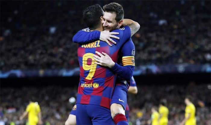 Champions League: Messi Stars As Barcelona Qualify For Knockouts, Draws For Chelsea And Liverpool