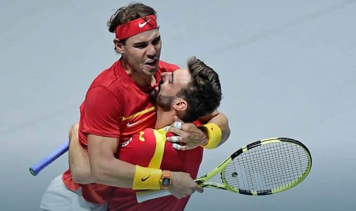 Rafael Nadal Stars As Spain Defeat Canada To Claim Sixth Davis Cup Title Tennis News India Com India Com News