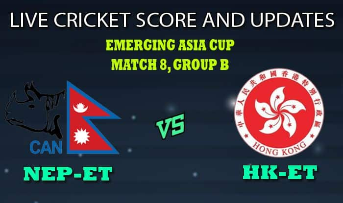 Nepal Emerging Team vs Hong Kong Emerging Team Dream11 Team Prediction Emerging Asia Cup 2019: Captain And Vice-Captain, Fantasy Cricket Tips NEP-ET vs HK-ET Match 8 Group B at Bangladesh Krira Shikkha Protisthan No 4 Ground, Savar 8:30 AM IST