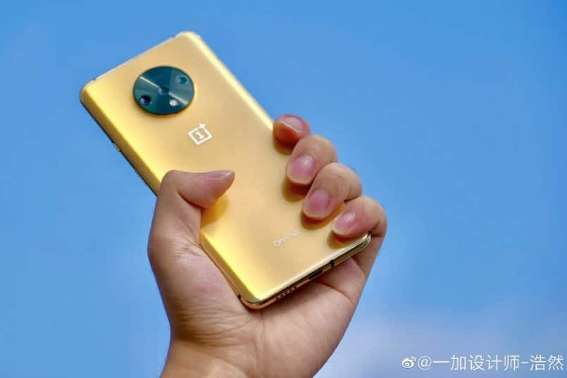 OnePlus 7T Metallic Gold: Here's a look at a color option which never released
