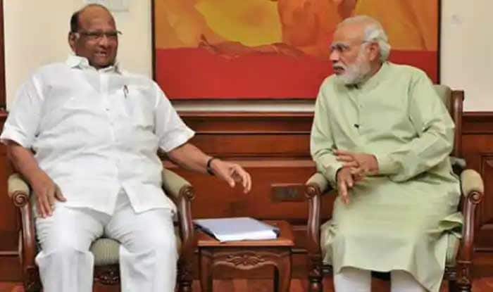 Days After PM's Praise of NCP, Sharad Pawar Meets Modi in Parliament Over Maharashtra Farmers