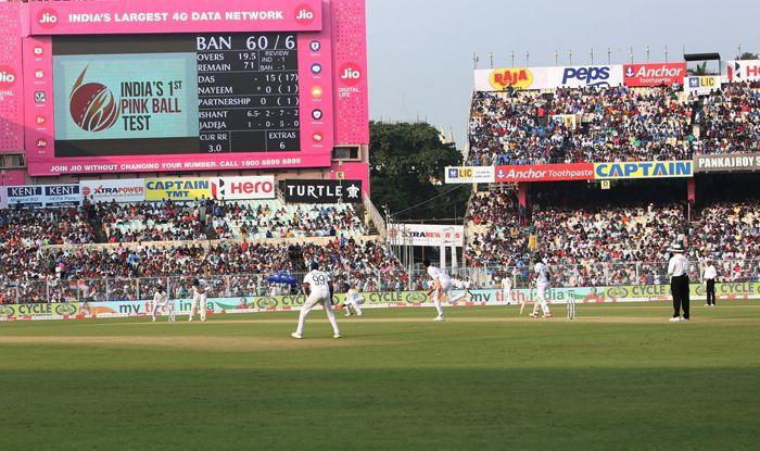 india vs bangladesh pink ball test eden gardens