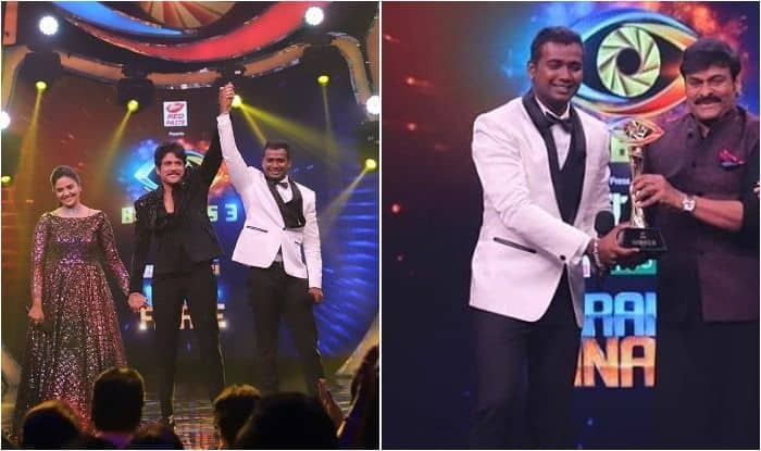 Rahul Sipligunj beats Sreemukhi to win Akkineni Nagarjuna-hosted Bigg Boss 3 Telugu