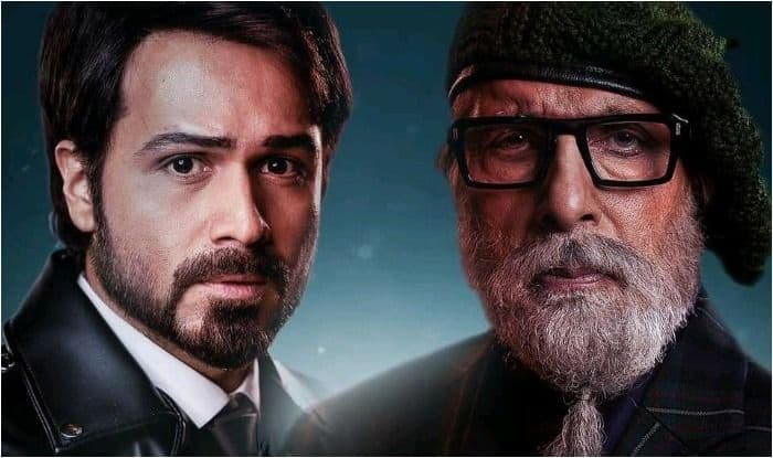 Emraan Hashmi and Amitabh Bachchan on the new poster of Rumi Jaffrey-directorial Chehre