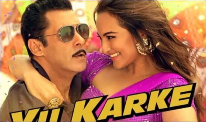 Salman Khan and Sonakshi Sinha in Yu Karke song from Dabangg 3