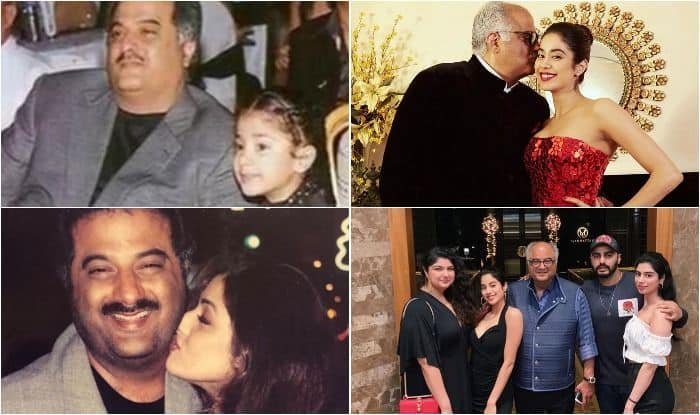 Janhvi Kapoor wishes Boney Kapoor on birthday with adorable picture gallery