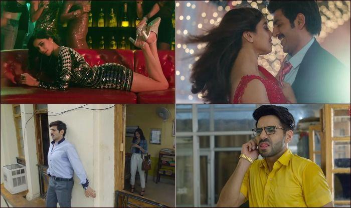 Stills from the trailer of Pati Patni Aur Woh