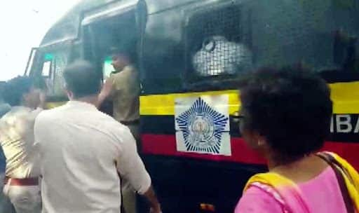 PMC Bank Crisis: Mumbai Police Detains Depositors Protesting Against Sitharaman Outside NSE Building