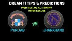 Dream11 Team Prediction Punjab vs Jharkhand : Captain And Vice Captain For Today Super League