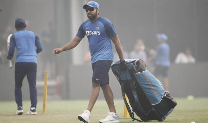 Injury Scare For India as Rohit Sharma Walks Off After Being Hit on Thigh During Nets