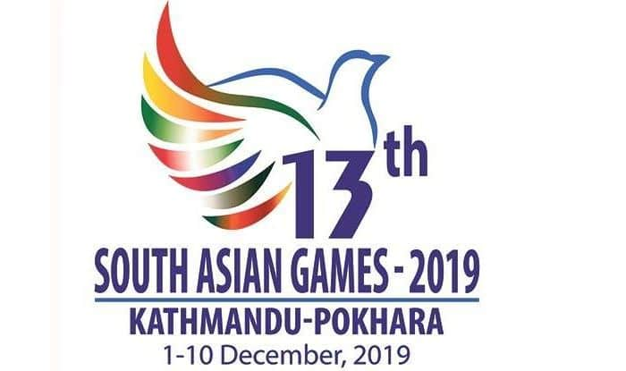south asian games 2019 logo