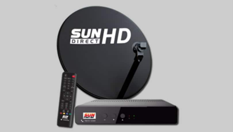 Sun Direct set-top-box prices now start at Rs 1,799, comes with one-month free subscription
