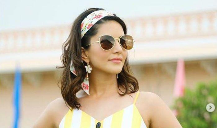 Sunny Leone's Sunday is Full of Sunshine as She Dons Beautiful Yellow Dress