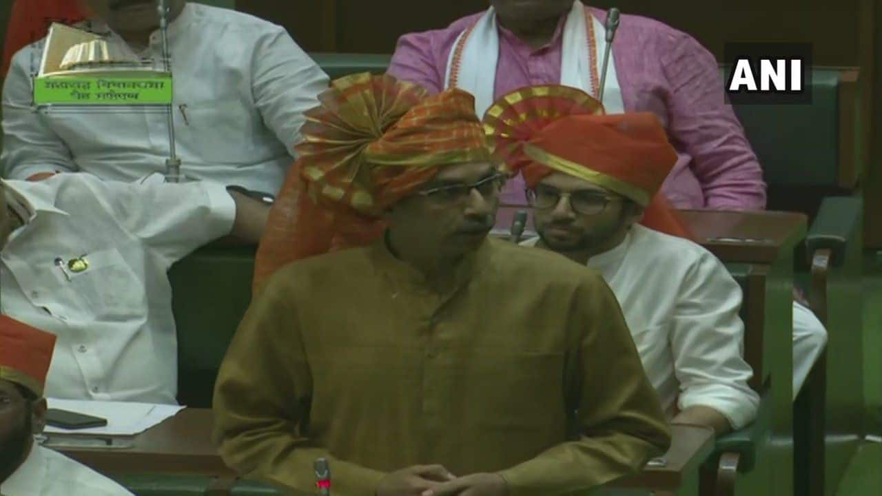 'Thank You For Having Confidence in me,' Uddhav Says After Winning Floor Test in Dramatic Assembly Session