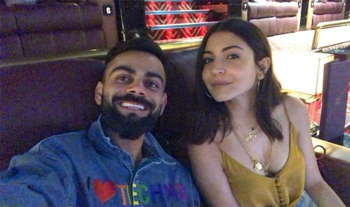 "Virat Kohli Enjoys Movie Night With ""Hottie"" Anushka Sharma"