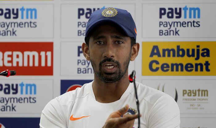 wriddhiman saha india wicketkeeper