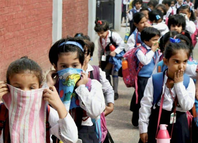 Delhi Pollution: All Schools in Delhi to Remain Closed till November 5, Announces Kejriwal
