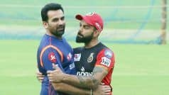 Five Test Centres Idea Sounds Good But Too Small a Number With Regard to Size of India: Zaheer Khan