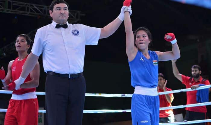 nikhat zareen mary kom boxing