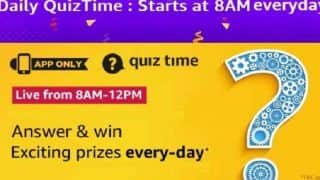 Amazon App Daily Quiz Contest December 29: Answer 5 Questions And Win Vivo U10 Smartphone