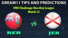 Bermuda vs Jersey Dream11 Team Prediction CWC Challenge One-Day League