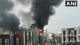 Fire Breaks Out in Gurugram, Six Fire Tenders Rushed to Spot, More Details Awaited