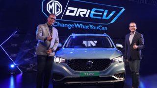 MG ने भारत में पेश की नई इलेक्ट्रिक SUV कार ZS EV, सिंगल चार्ज में चलेगी 340 किलोमीटर
