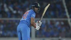 2nd T20I: Shivam Dube Maiden Fifty to Drive India to 170/7