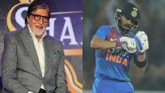 Praising Kohli, Amitabh Recreates His Famous Dialogue From Amar Akbar Anthony