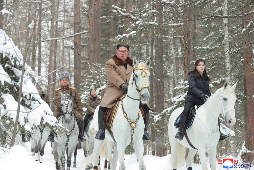 North Korea's Kim Jong Un Seen Riding White Horse to Sacred Mountain, Experts Hint At Policy Change