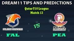 FAL vs PEA Dream11 Team Prediction Qatar T10 League