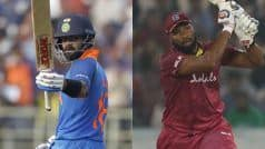1st ODI LIVE: Hetmyer Slams Hundred as West Indies Cruise in 288 Chase vs India