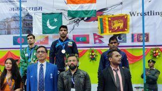 13th South Asian Games: Indian Wrestlers Sakshi, Ravinder, Pawan and Anshu Add Four More Gold Medals