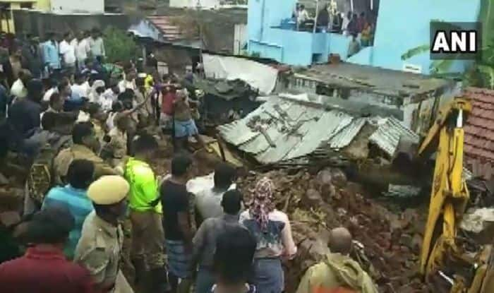 Tamil Nadu Rains: 17 Killed, Several Trapped in Wall Collapse Accident Near Coimbatore, Rescue Ops Underway