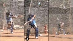 WATCH: Rohit, Kohli go Hammer & Tongs in Nets Ahead of 1st T20I