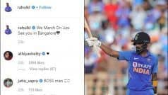 Athiya's Reaction to KL Rahul's Post Will Make Your 'Heart' Skip a Beat