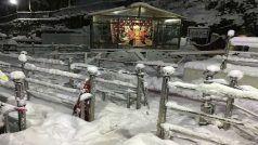 Chopper Service Suspended as Mata Vaishno Devi Shrine Sees Fresh Snowfall